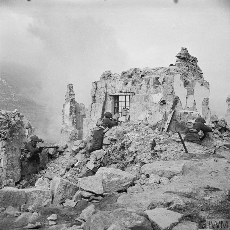 The Battle Of Cassino January May 1944 Imperial War Museums