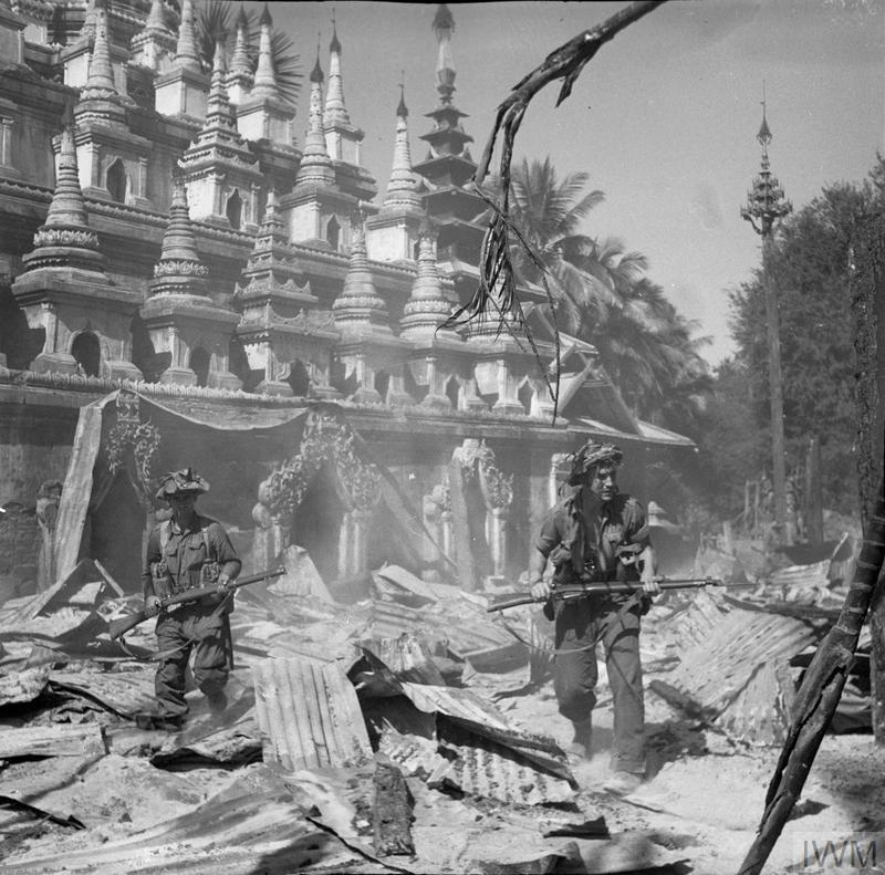 THE BRITISH ARMY IN BURMA DURING THE SECOND WORLD WAR