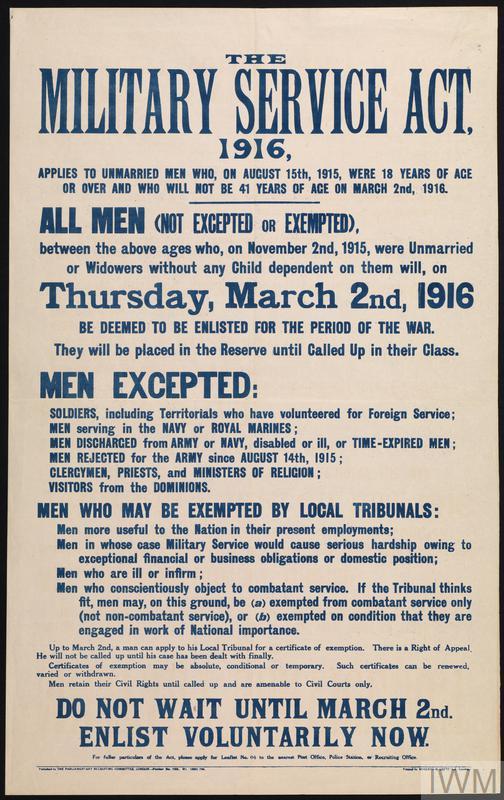 First World War Recruitment Posters | Imperial War Museums