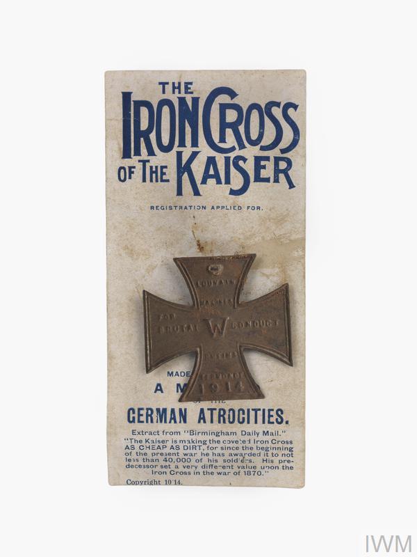 souvenir, 'The Iron Cross of the Kaiser'