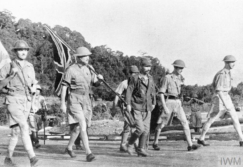 The Battle of Singapore, February 1942