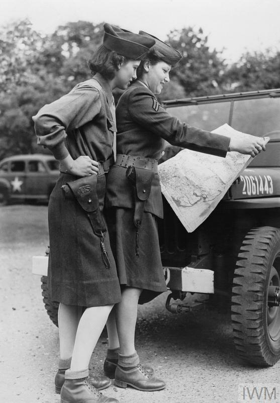 United States Womens Army Corps In Britain During The