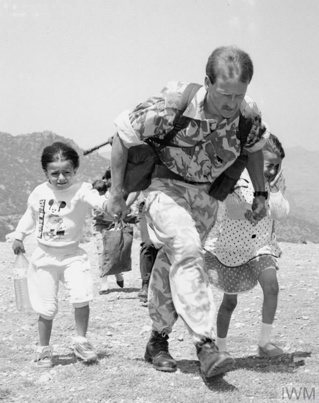 OPERATION HAVEN - ROYAL MARINES AND THE HUMANITARIAN RELIEF EFFORT FOR KURDISH REFUGEES ON THE IRAQ/TURKISH BORDER, 1991