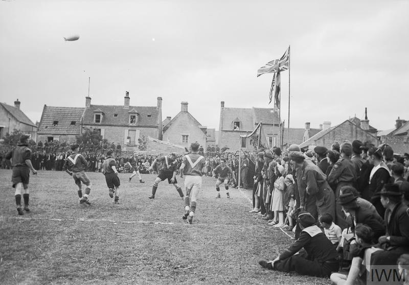 SPORT & LEISURE IN THE BRITISH ARMY DURING THE SECOND WORLD WAR