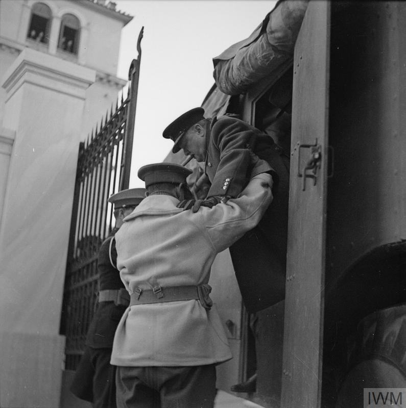 WINSTON CHURCHILL IN GREECE DURING THE SECOND WORLD WAR