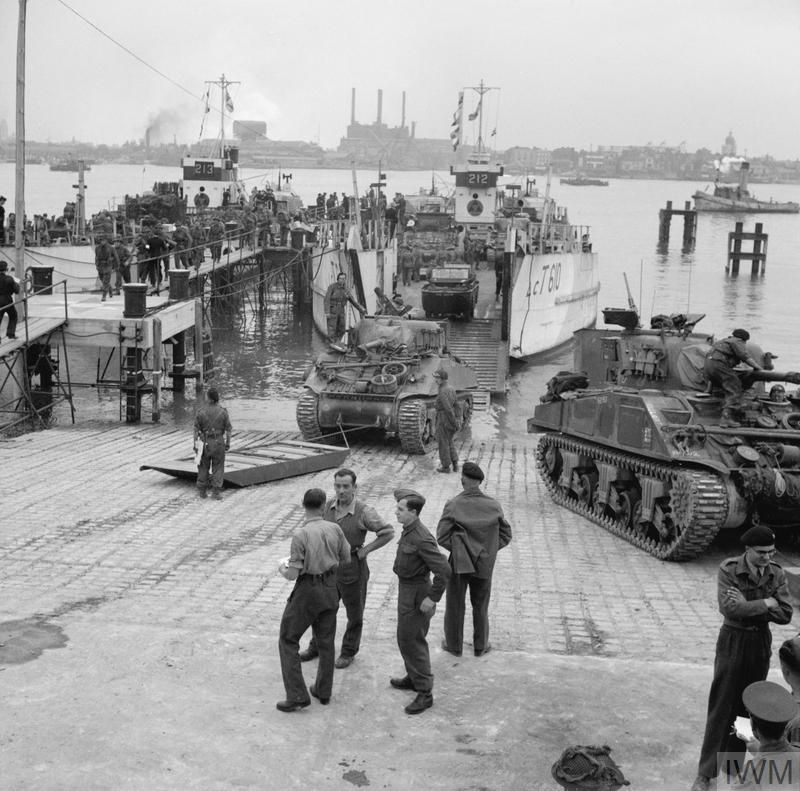 ALLIED PREPARATIONS FOR D-DAY
