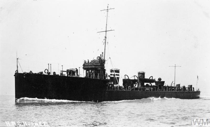 HMS Hornet, Acheron-class destroyer.