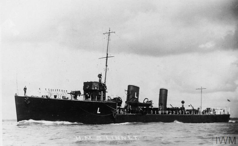 HMS Linnet, Laforey-class destroyer.