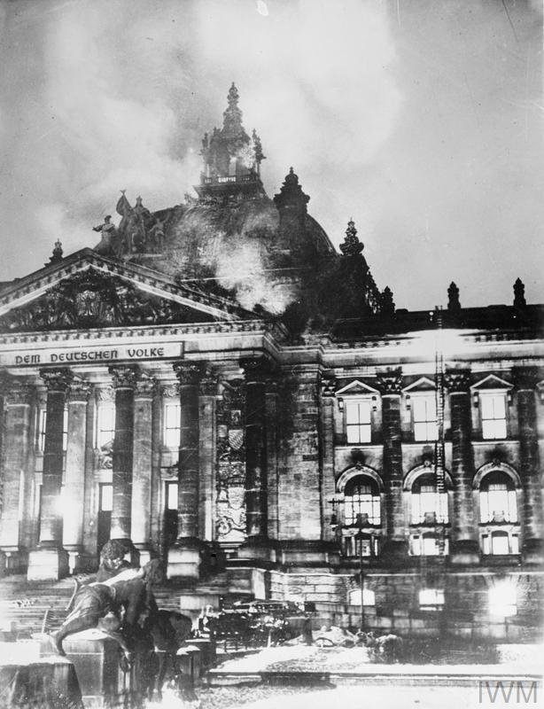 The Reichstag Fire >> THE REICHSTAG FIRE, GERMANY, 1933 | Imperial War Museums