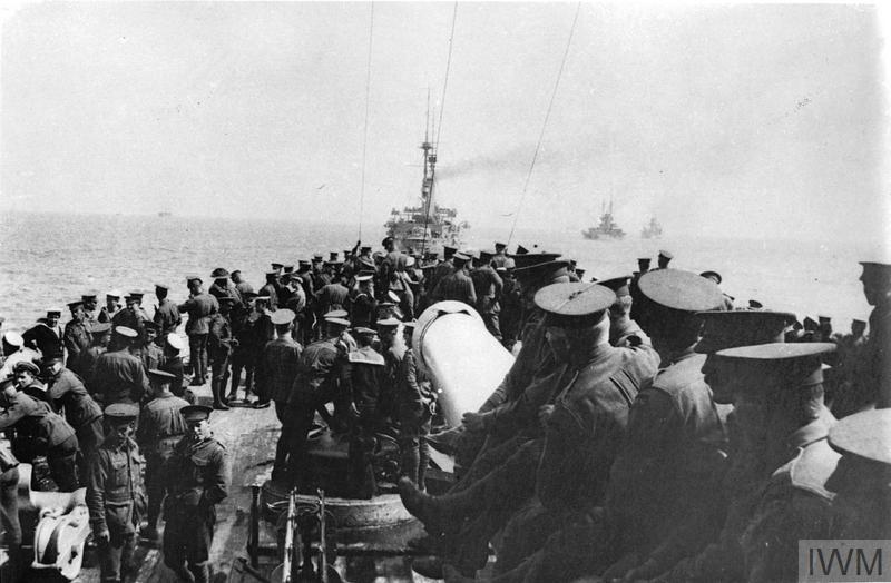 THE DARDANELLES CAMPAIGN, TURKEY, 1915 - 1916