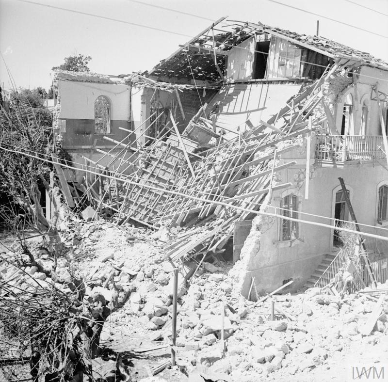 The British Mandate In Palestine 1917 1948 Imperial War