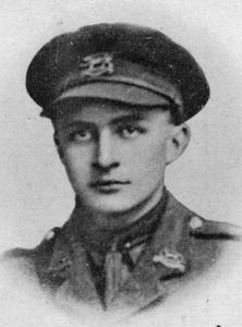 Second Lieutenant Vyvyan Hope Lancelott Davenport