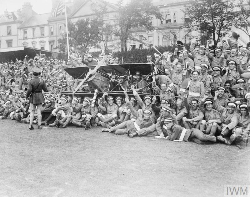 THE ROYAL FLYING CORPS IN THE FIRST WORLD WAR