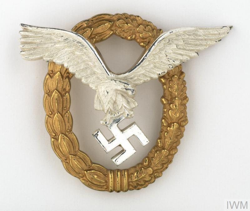 badge, trade, German, combined pilot & observer badge