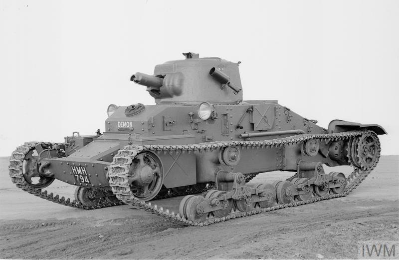 Infantry tank Mk I Matilda I (A11).