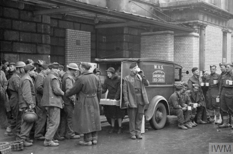 Blitz Canteen Women Of The Women S Voluntary Service Run