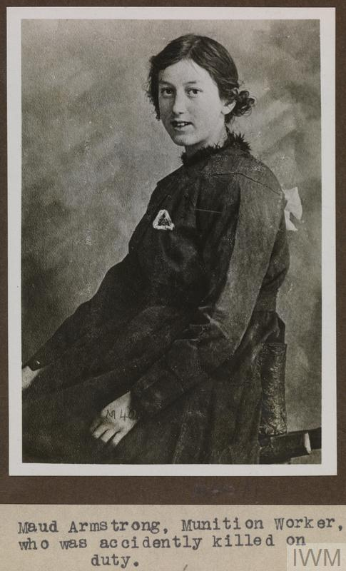 MISS MAUD ARMSTRONG