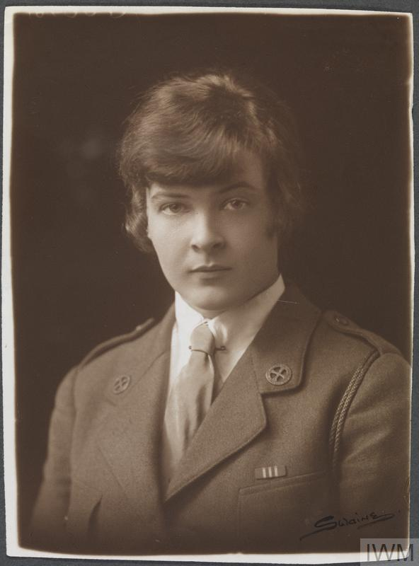 Miss Molly O'Connell Bianconi MM, First Aid Nursing Yeomanry.