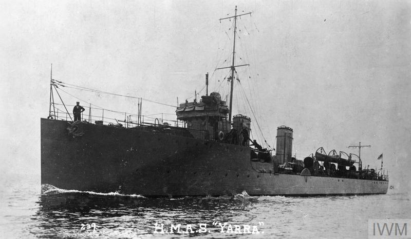 THE AUSTRALIAN NAVY IN THE FIRST WORLD WAR