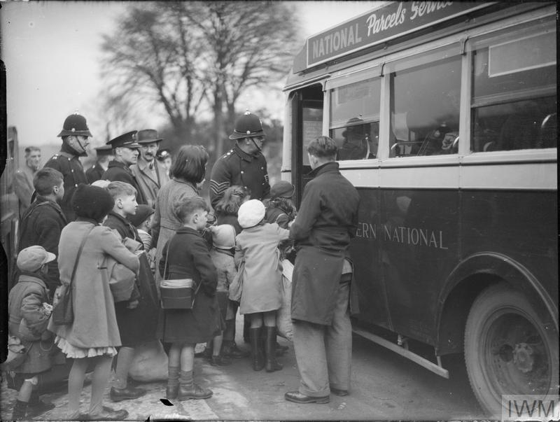 Evacuees From Bristol To Kingsbridge Devon 1940