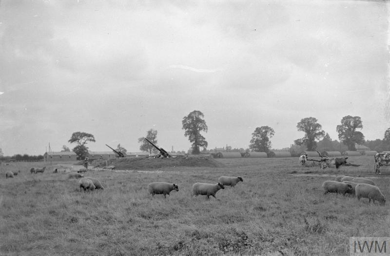 AGRICULTURE AND THE MILITARY: EVERYDAY LIFE IN THE COUNTRYSIDE, BRITAIN, C 1941
