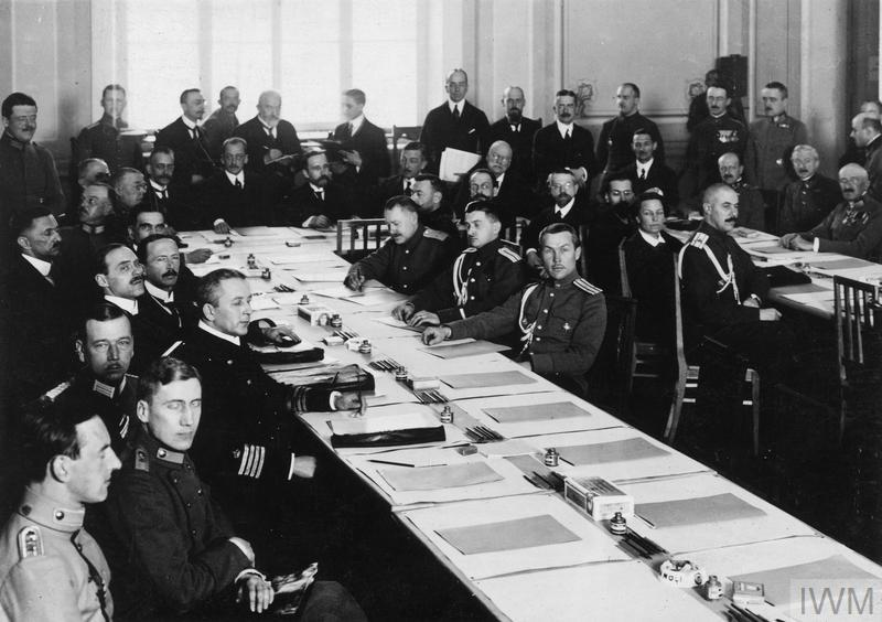 THE TREATY OF BREST-LITOVSK, MARCH 1918
