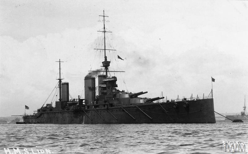 Battlecruiser HMS Lion.