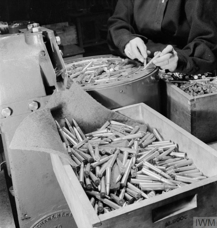 LETTER INTO BULLET: TURNING SALVAGED PAPER INTO RIFLE CARTRIDGES, ENGLAND, 1942