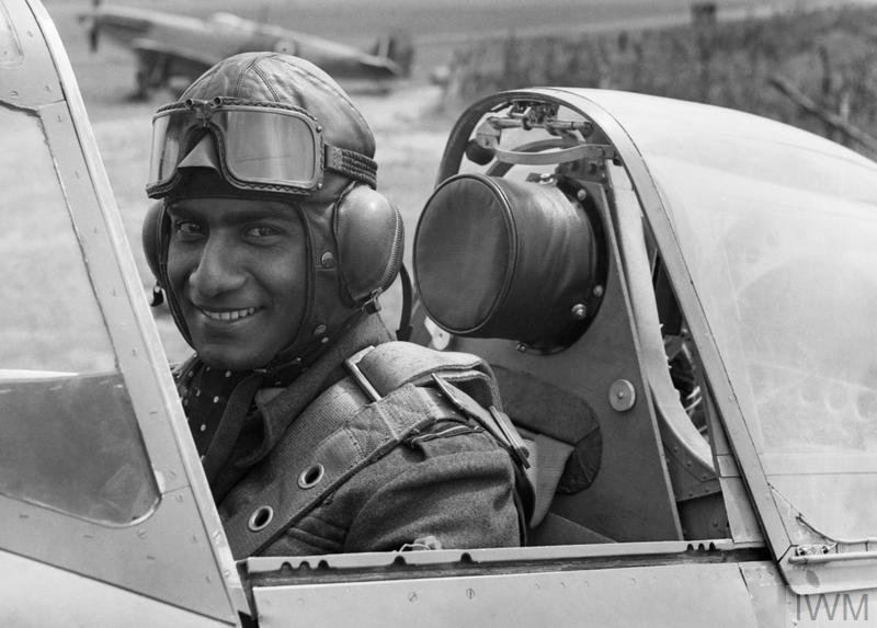 INDIAN TEST PILOT, ENGLAND, 1942