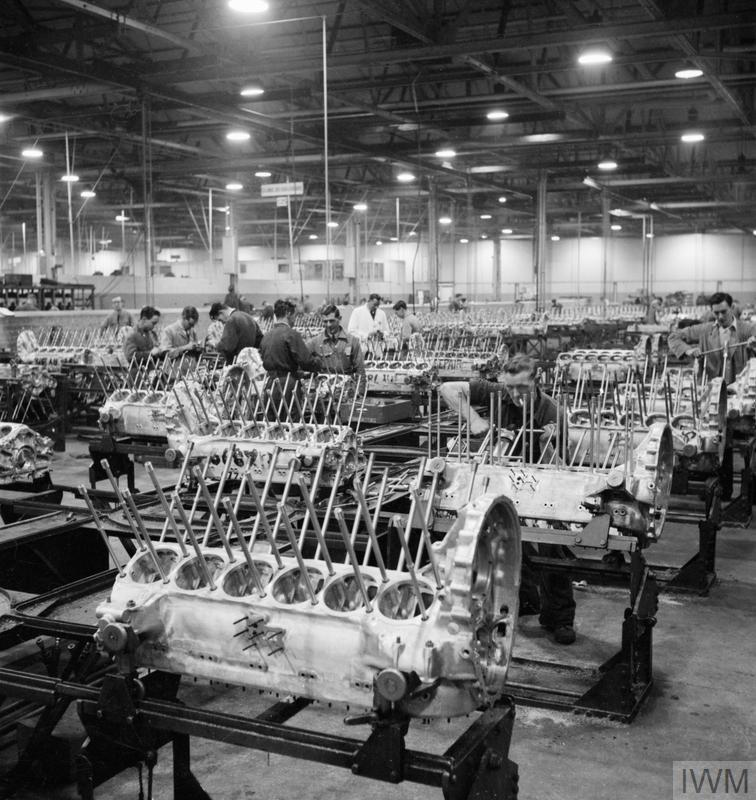 A Merlin Is Made The Production Of Merlin Engines At A