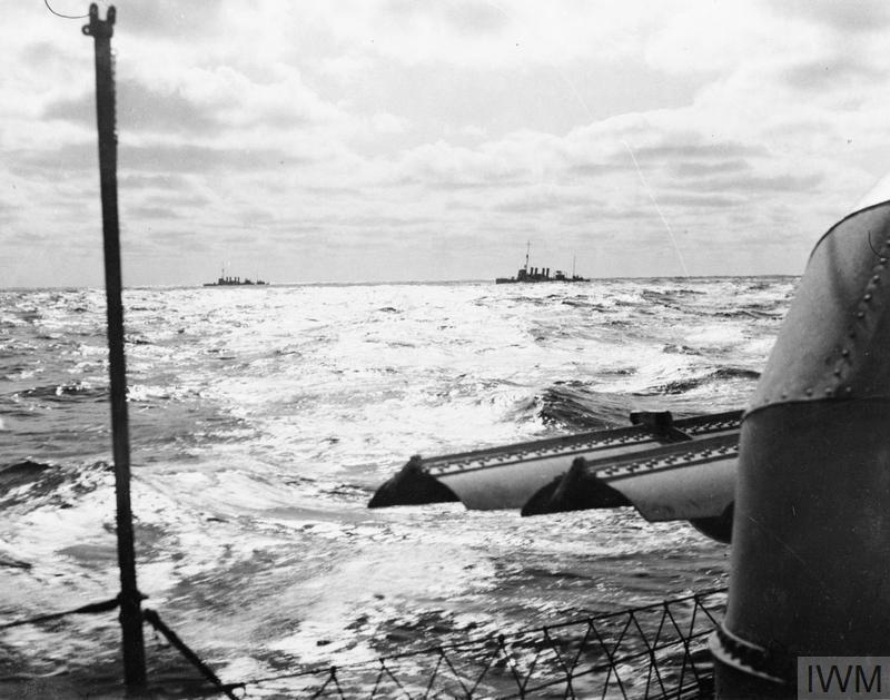 ON BOARD A SHIP AT SEA. 1940?