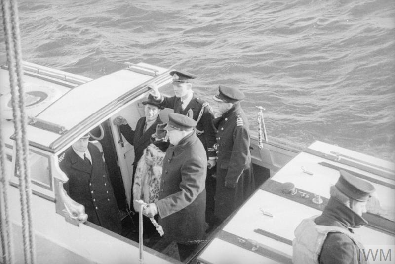 LORD HALIFAX LEAVES FOR USA IN HMS KING GEORGE V TO TAKE UP HIS POST AS AMBASSADOR. JANUARY 1941.