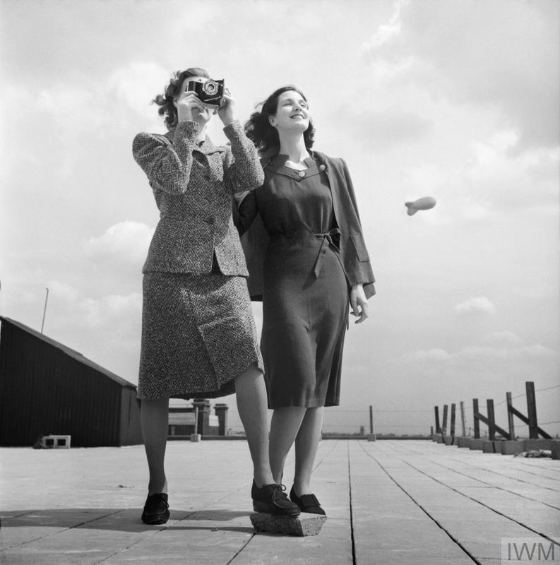 Austerity Clothes Fashion Restrictions In Wartime Britain