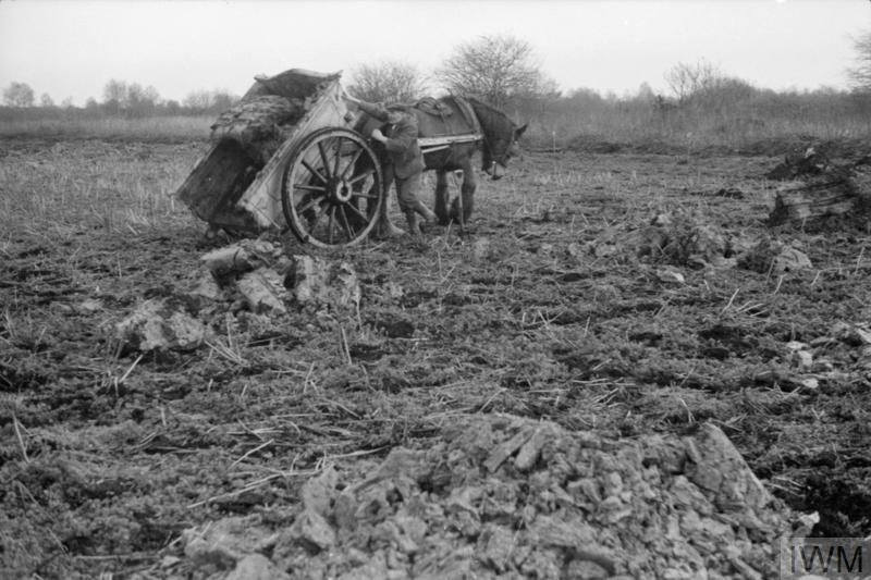 SOIL CONSERVATION IN HUNTINGDONSHIRE: AGRICULTURE IN ENGLAND, UK, 1944