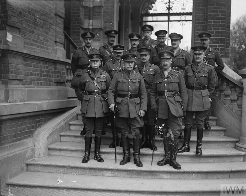 General Haig and his Field Commanders, 11th November 1918