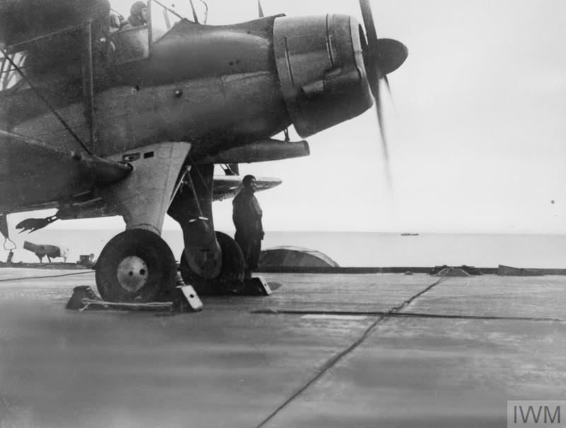 FLEET AIR ARM. 28 TO 31 DECEMBER 1941, ON BOARD HMS VICTORIOUS.