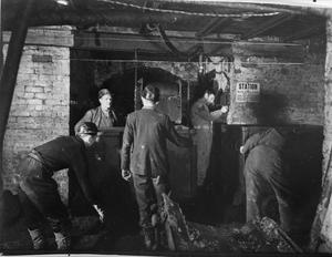 BEVIN BOY: MINING TRAINING AT OLLERTON, NOTTINGHAMSHIRE, FEBRUARY 1945