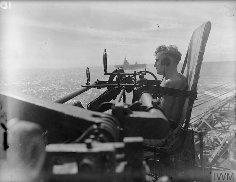 FORCE A OF THE EASTERN FLEET RETURN TO KILINDINI FROM COLOMBO. 23 JUNE-2 JULY 1942.