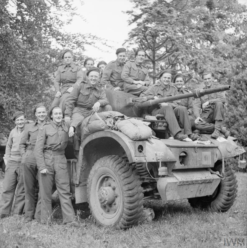 THE BRITISH ARMY IN NORTH-WEST EUROPE 1944-45