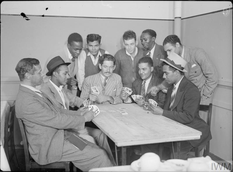 JAMAICAN TECHNICIANS ARRIVE IN BRITAIN, UK, 1941