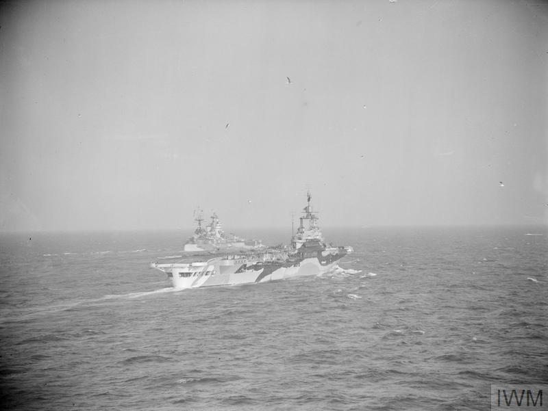FORCE H AT SEA AND IN HARBOUR, 12 TO 14 JANUARY 1943, AT SEA AND AT MERS-EL-KEBIR. THE BRITISH NAVY SUPPORTING NORTH AFRICA CAMPAIGN.