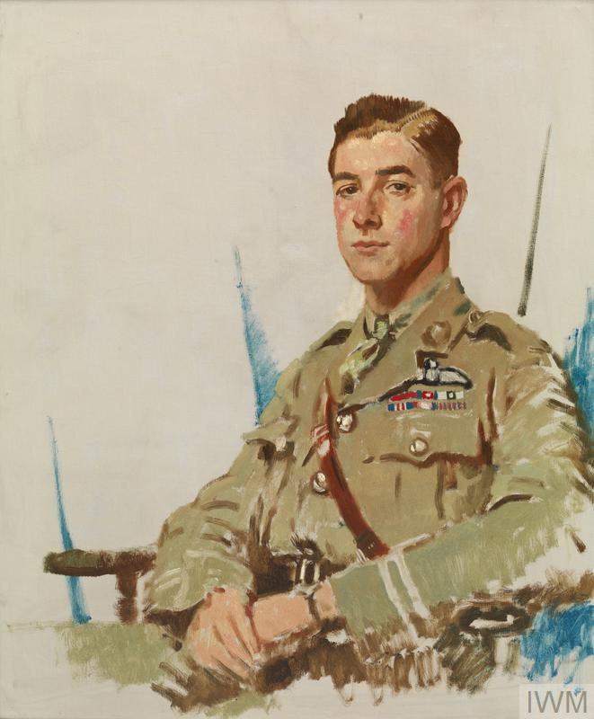 Portrait of Major J B McCudden by William Orpen