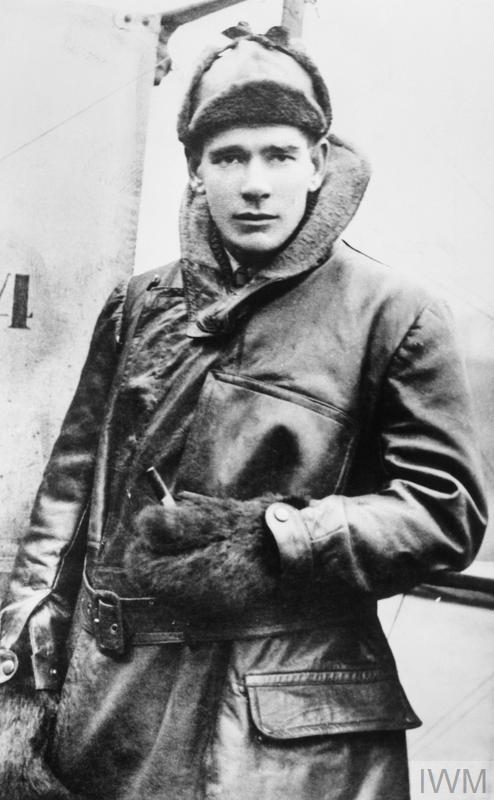 "Major Edward Corringham ""Mick"" Mannock VC DSO MC of the Royal Air Force."