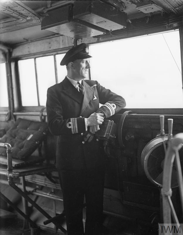 WITH HMS MONTGOMERY, EX-US DESTROYER. 20 NOVEMBER 1941, GOUROCK.
