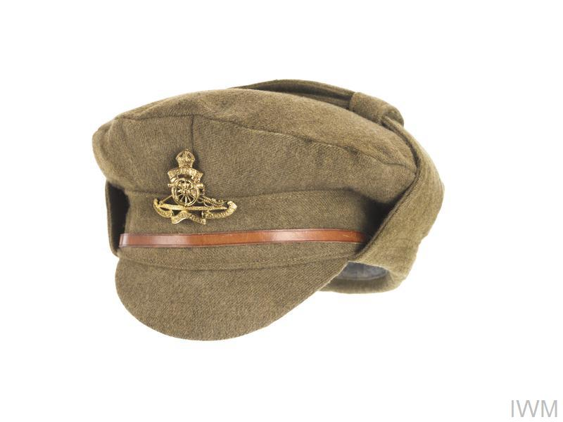 Cap, 1915 Pattern Winter Trench Cap: O/Rs, Royal Artillery