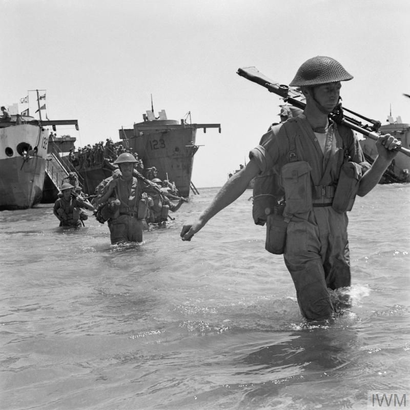 THE INVASION OF SICILY JULY 1943