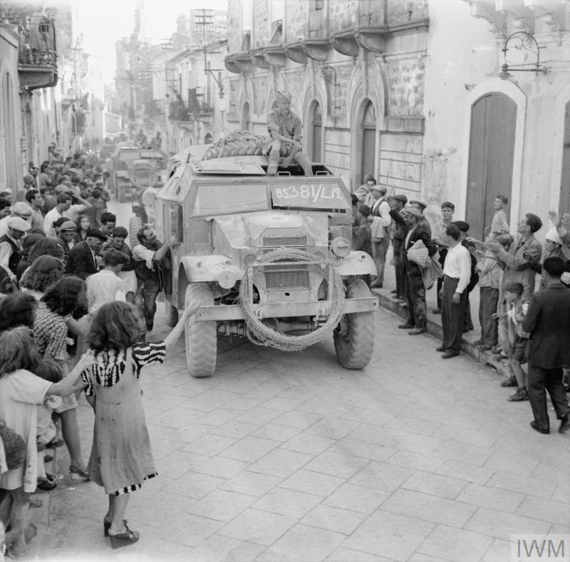 THE BRITISH ARMY IN SICILY 1943