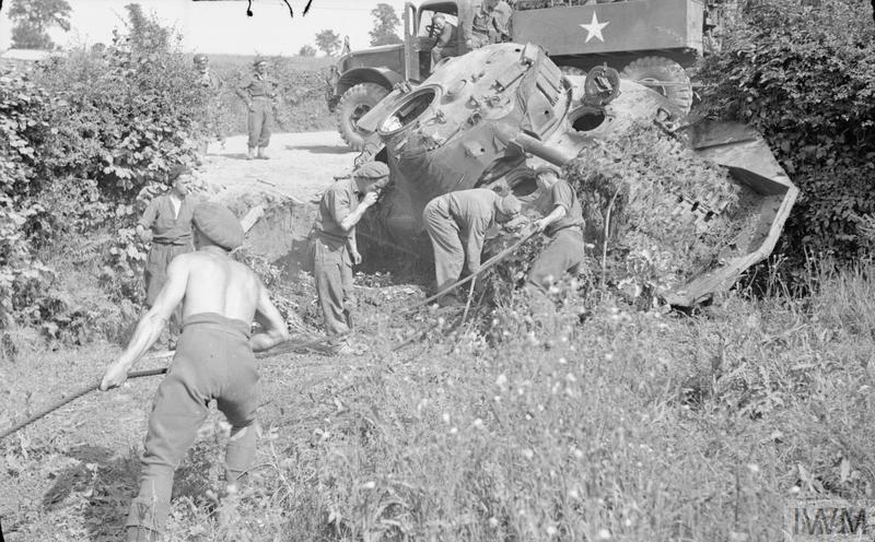 THE BRITISH ARMY IN NORMANDY 1944