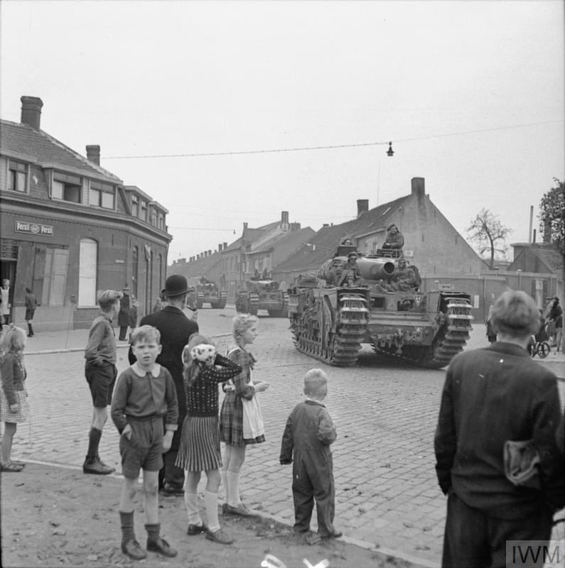 THE BRITISH ARMY IN NORTH-WEST EUROPE 1944