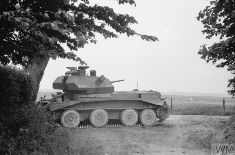 A13 Cruiser Mk IV tank at Huppy, 26-29 May 1940.